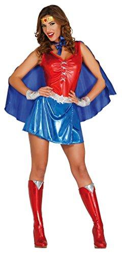 FIESTAS GUIRCA Disfraz heroína Poder Mujer Mujer