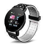 Ajcoflt Smart Watch, Fitness Trackers Women Men Digital Watches Pedometer Heart Rate Monitor