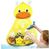 ZYCX123 Baño Bolsa de Juguete del baño del bebé de Juguete Organizador Net Cuarto de baño de Almacenamiento (Pato Amarillo) Regalo para niños