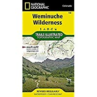 Weminuche Wilderness (National Geographic Trails Illustrated Map)【洋書】 [並行輸入品]
