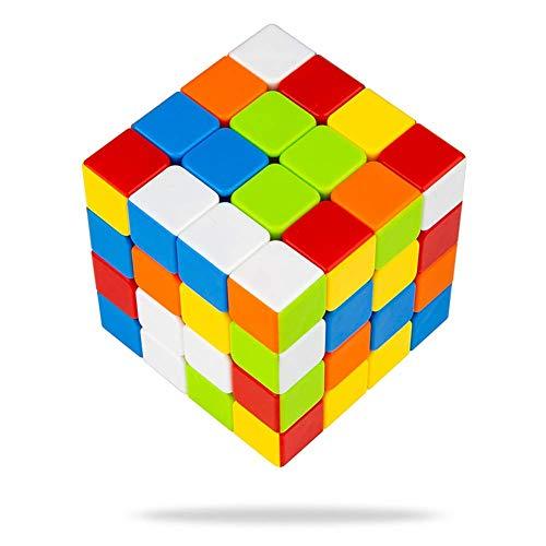 Buself Zauberwürfel 4x4 Original Speed Cube - Stickerloser Würfel mit optimierten Dreheigenschaften