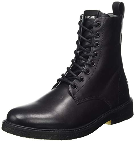 Blackstone Damen QL56 Hohe Stiefel, Schwarz (Black BLK), 39 EU