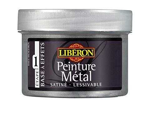 LIBERON Peinture métal pour meubles et objets, Aluminium, 250mL