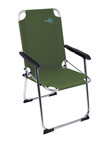 Bo-Camp aluminium klapstoel - visstoel vissenstoel campingstoel klapstoel opvouwbaar