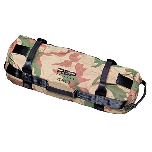 REP FITNESS Sandbag - Medium, Camo, 25-75 lbs