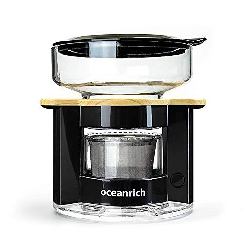 オーシャンリッチ(Oceanrich) 自動ドリップ・コーヒーメーカー ブラック UQ-CR8200BL