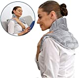 Heating Pad Solutions - Neck Buddy Plus Microwave Heating Pad for Neck, Shoulder
