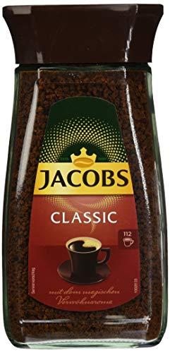 Jacobs Classic Instant-/ Löskaffee Glas, 1er Pack (1 x 200 g)