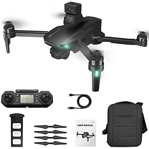 Bybo Dron M9 con cámara 4K para adultos, cardón de 3 ejes, función de prevención de obstáculos, 5G WiFi GPS, dron FPV Brushless RC cuadricóptero, posicionamiento óptico, 25 minutos de tiempo de vuelo.