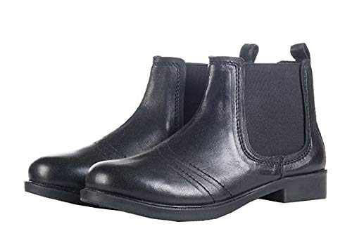 HKM Kinder Jodhpur Schuh, Leder, schwarz, 29