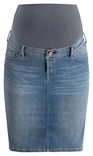 Noppies Damen Jeans Skirt OTB Rock, Blau (Misty Blue C321), 34 (Herstellergröße: 26)