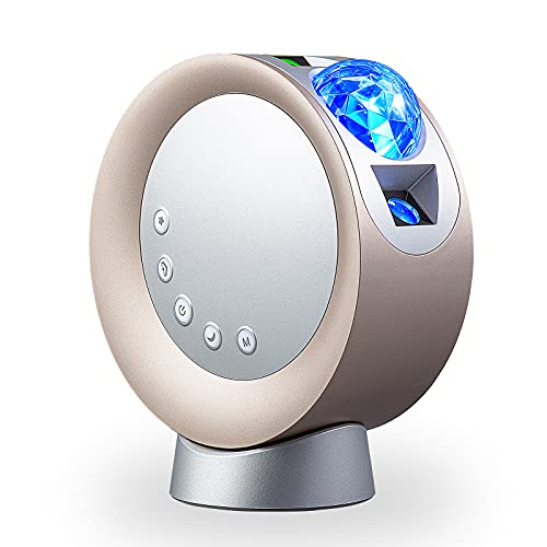 Luz de Proyector Estrellas, NXENTC Luz Nocturna LED Proyección de Cielo y Galaxia Luz del Cielo Luz Nocturna de Nube y Luna para Dormitorio/Fiesta/hogar/Teatro