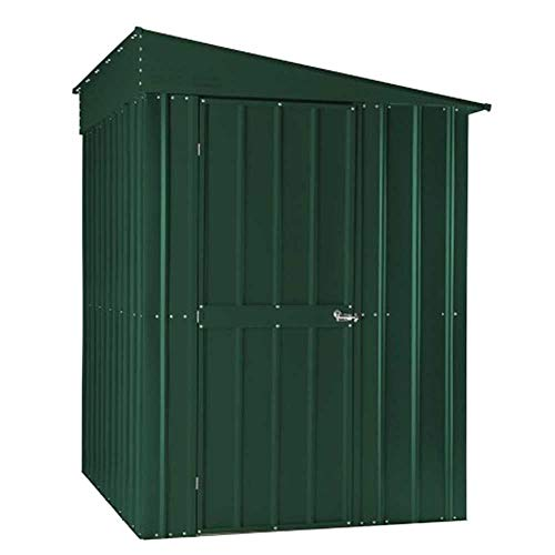 Global LOTUS LEAN-TO 58 HG 5 x 8 ft Shed - Heritage Green