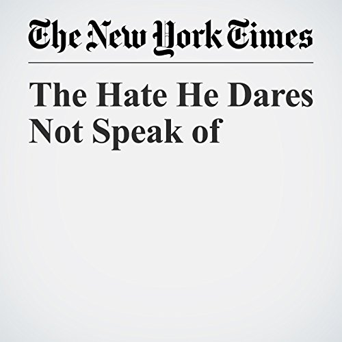 The Hate He Dares Not Speak of  copertina