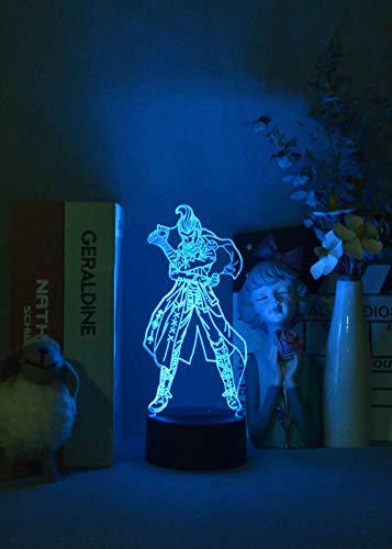 Danganronpa - Luz nocturna 3D con sensor táctil de Gundham Tanaka, control por Bluetooth, iluminación de escritorio personalizada, HAFS