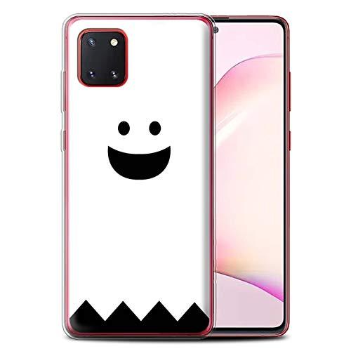 Stuff4 Gel TPU Hülle/Hülle für Samsung Galaxy Note 10 Lite 2020 / Geist Muster/Halloween Zeichen Kollektion