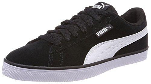 Puma Unisex-Erwachsene Urban Plus SD Sneaker, Schwarz (Puma Black-puma White 1), 42.5 EU (8.5 UK)