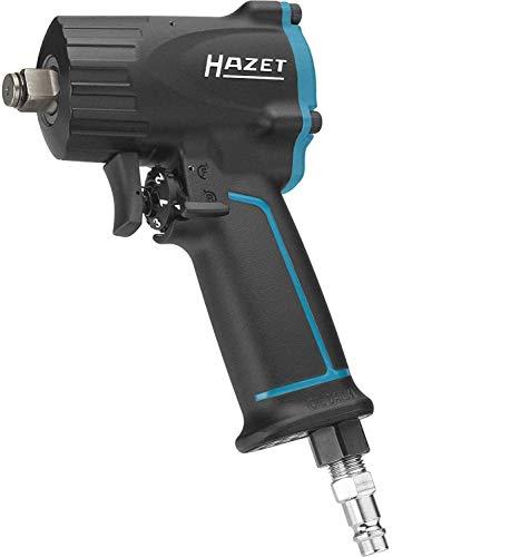 Hazet 9012M Avvitatore Ad Impulso Extra Corto, Multicolore, Attacco Quadro, Massiccio, 12.5 mm 1/2 di Pollice