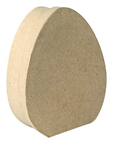 Décopatch BT068C – EIN Ständer aus braunem Pappmaché, 4 x 12 x 14,5 cm, Box in Größe M