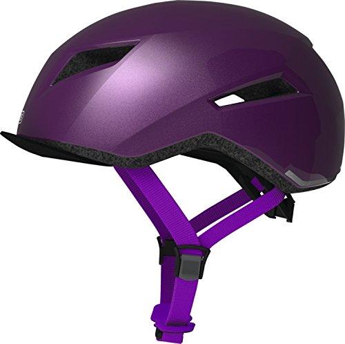 Abus Unisex-Erwachsene YADD-I Fahrradhelm, Brilliant Purple, M