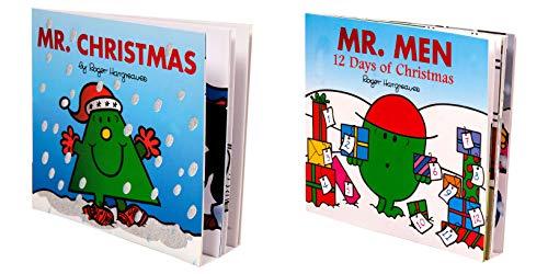 Roger Hargreaves Mr Men & Mr Christmas Book - Libro de Navidad para niños