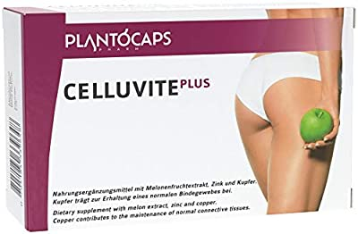 plantoCAPS® CELLUVITE Plus | Anti Cellulite Capsules, aid in case of Cellulite by Rhg Trading Gmbh
