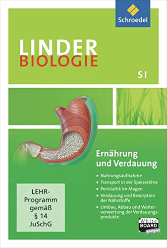 LINDER Biologie SI: Ernährung und Verdauung: Einzelplatzlizenz: Lernsoftware / Einzelplatzlizenz (LINDER Biologie SI: Lernsoftware)