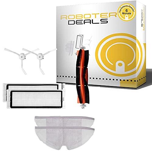 Roboter-Deals - Kit de accesorios para robot Roborock S5, S6, S7 (cepillo principal, cepillo lateral, filtro y almohada)