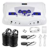 Ionic Foot Detox Machine, Ionic Detox Foot Bath SPA System for 2 Users with MP3 Music Player, Including 2 Earphones, 2 Waist Straps, 2 Arrays, 5 Foot Basin Liners