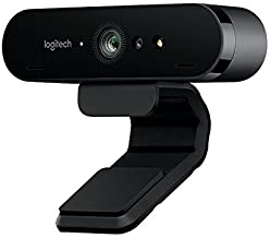 Logitech Brio Webcam - 90 Fps - USB 3.0-4096 X 2160 Video - Auto-Focus - 5X Digital Zoom - Microp