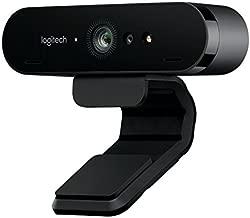 Logitech Brio Webcam - 90 Fps - Usb 3.0 - 4096 X 2160 Video - Auto-focus - 5x Digital Zoom - Microp