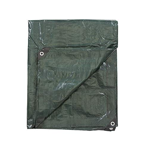 Stansport T-810 Reinforced Multi-Purpose Tarp, Green - 8' x 10'