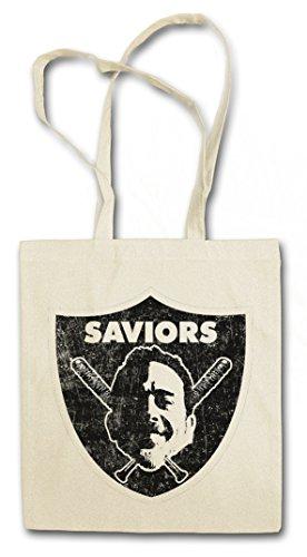 Urban Backwoods Saviors Logo Bolsas de la Compra Reutilizables