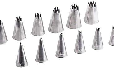Safico Stainless Steel Star Tube 12 Pcs Set