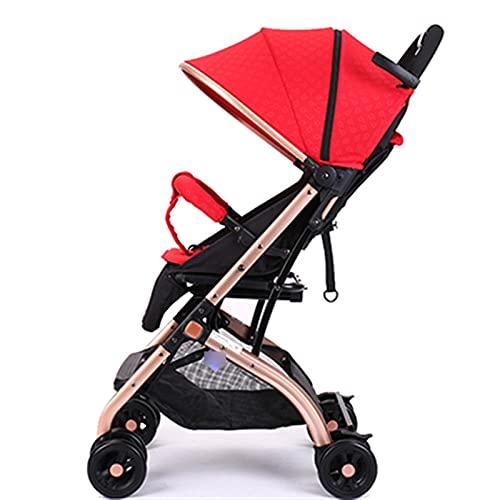 ZHYLing Super Light Travel Baby Car One Key Plegable Cochecito de bebé...