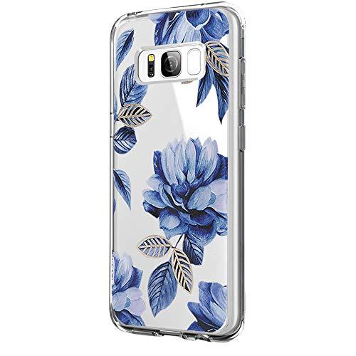 JEPER Damen Jeanshose One Size Gr. Samsung Galaxy S8 Plus, Fleurs 03