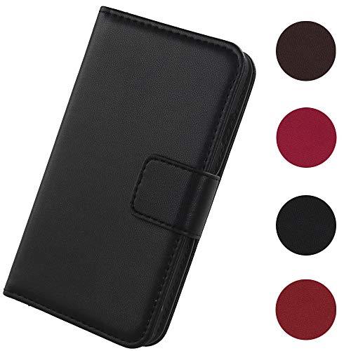 Lankashi Flip Premium Echt Leder Tasche Hülle Für Gigaset Me GS55-6 5