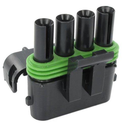 Automotive Connectors 4P FM BLK Max Gifts 88% OFF ASSY 20 AMPS CON