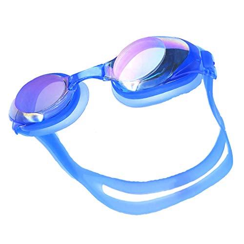 Occhialini da Nuoto per Uomini Donne, Anti-Appannamento Specchio Occhiali Nuoto da Piscina...
