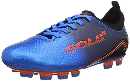 Gola Jungen Apex 2 Blade Fußballschuh, blau/schwarz, 36 2/3 EU