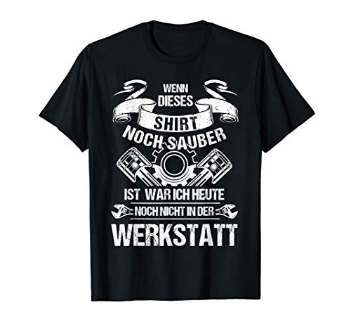 Herren KFZ-Mechatroniker TShirt Lustig Geschenk KFZ-Mechaniker T-Shirt