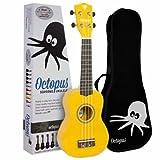 UKELELE - Octopus (UK 200 YL) Soprano (Color Amarillo)