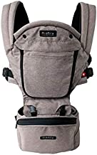 MiaMily Hipster Plus 3D Child & Baby Carrier - Perfect 360 Backpack Alternative for Hiking with 6 Carrying Positions and Ergonomic Design with Hip Protection for Toddler or Infant (Stone Grey)