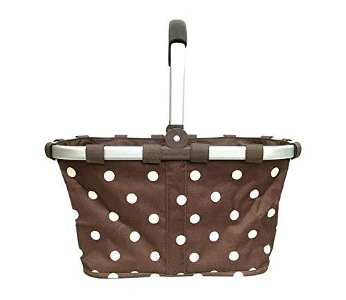 Picnic Basket Folding Picnic Basket Thermal Insulation Bag Outdoor Double Handle Picnic Ice Bag Shopping Basket Picnic Hamper
