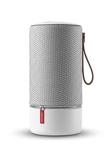 Libratone ZIPP Wireless Lautsprecher (360° Sound, Wlan, Bluetooth, MultiRoom, Airplay 2, Spotify Connect, 10 Std. Akku) cloudy grey