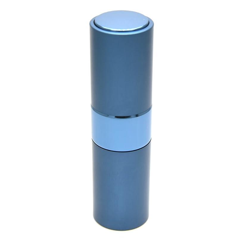 統合する分散本気Prilliant 香水 アトマイザー プッシュ式 詰め替え 携帯便利 オシャレ 容量15ml (ブルー)