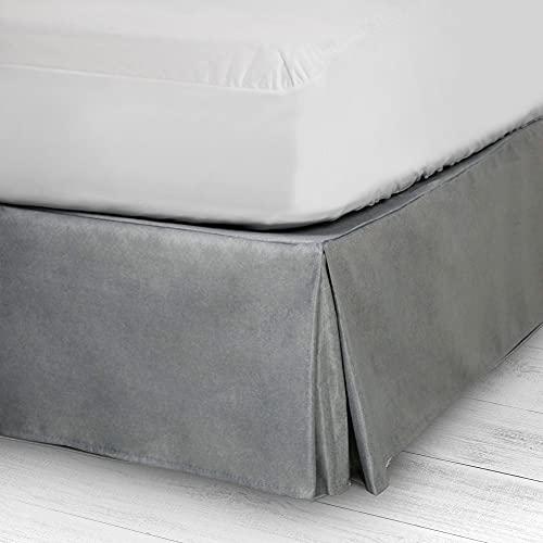 10XDIEZ Cubre canapé Dim Gris 45 | (Cama 105 cm - Gris)