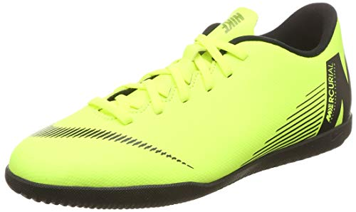 Nike Vapor 12 Club IC, Zapatillas de fútbol Sala Unisex Adulto, Verde (Volt/Black 701), 42 EU