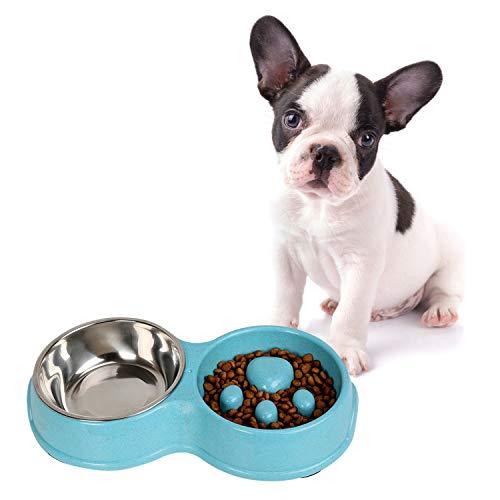 PETCUTE Hundenapf Anti-Schling fressnapf langsame fütterung hundenapf Hund Anti schling napf rutschfeste Hundenapf