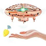 Mini Drohne Ufo, Drohne FüR Kinder, Wiederaufladbar Quadrocopter, Drohne Mit Led...